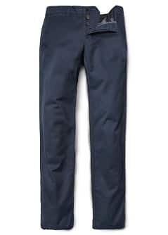 Cotton slim-fit chino trousers