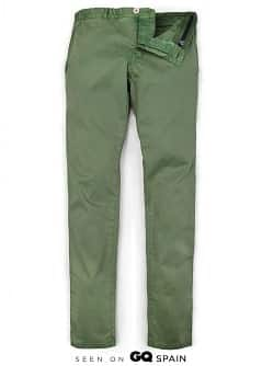 COTTON SLIM-FIT CHINO