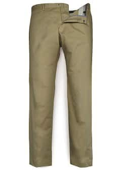 COTTON SUIT TROUSERS