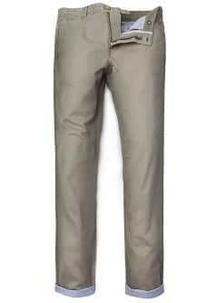 Oxford lining chino trousers