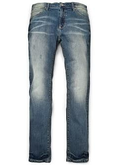 JEANS TIM SLIM-FIT EFFETTO &quot;LAVATO&quot; VINTAGE