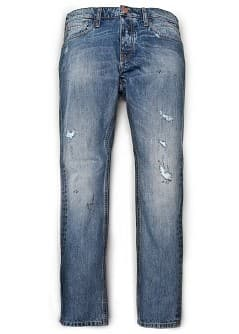 STEVE PREMIUM SLIM-FIT DISTRESSED JEANS