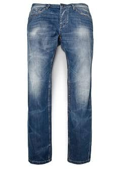 ROBERT RECHTE MEDIUM WASH JEANS