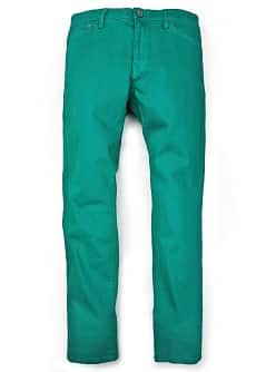 ALEX SLIM-FIT GREEN JEANS