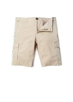 Pockets cotton bermuda shorts