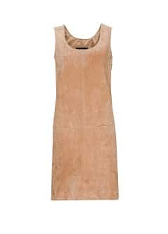 Suede dress