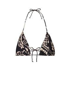 Printed triangle top