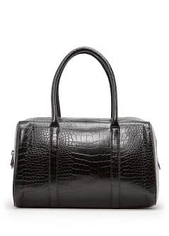 Sac bowling effet crocodile