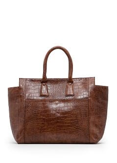 Sac fourre-tout crocodile
