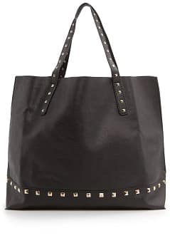 Bolso shopper tachuelas