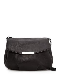 Metal plate shoulder bag