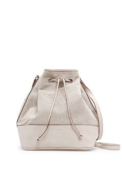 Perforated bucket back
