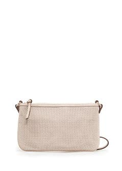Small perforated shoulder bag