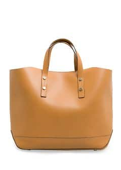 Sac shopper en cuir