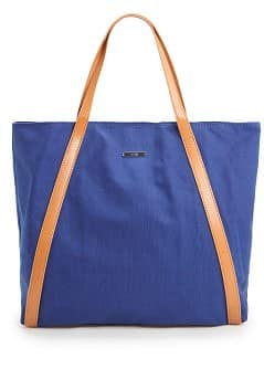 Bolso shopper algodn