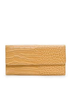 Croc skin effect wallet