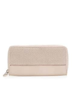 Perforated panel wallet