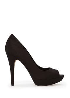 Peep-toe plateforme