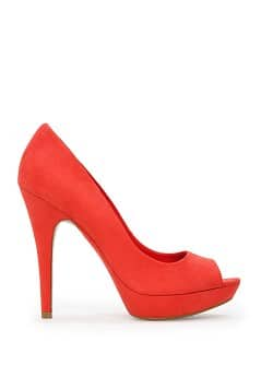 Peep-toe plataforma