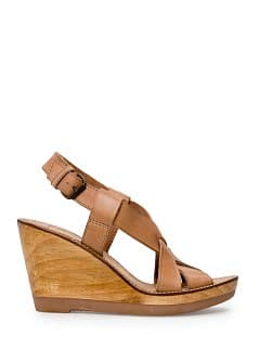 Sandalias cua madera