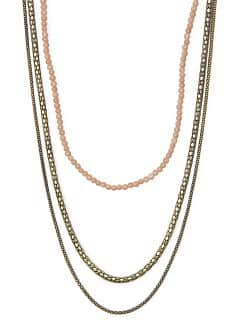 Collier perles chanes