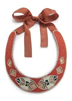 Ethnic beaded choker