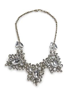 Chandelier crystals necklace