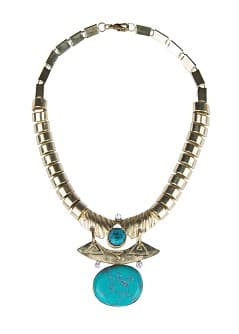 Collier ethnique turquoise