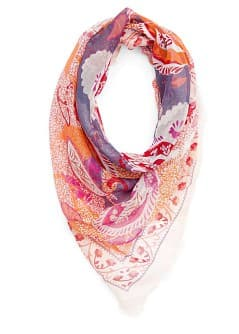 Foulard met Paisley print