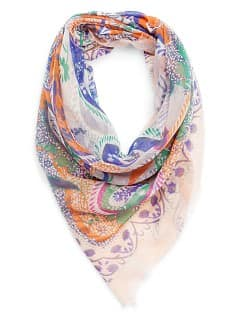 Foulard imprim cachemire