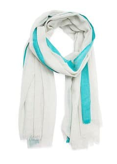 Two-tone foulard