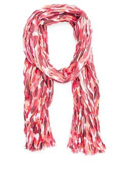 Printed cotton foulard