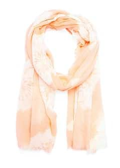 Floral print foulard