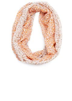 Neon print foulard