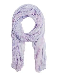 Foulard effet tie-dye