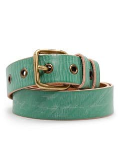 Ceinture cuir rivets
