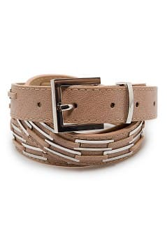 Metal hardware belt