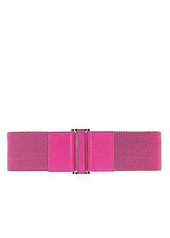 Elastic waist belt