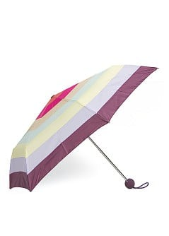 Multicolored stripes umbrella