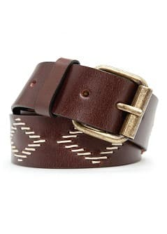 ETHNIC STYLE LEATHER BELT