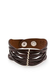 LEDERARMBAND MIT RIEMEN