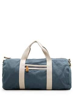 DUFFLE-BAG AUS BAUMWOLL-LEINEN