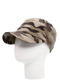 Camo-print cap