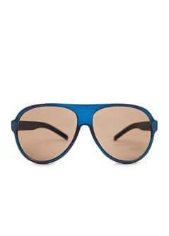 AVIATOR ACETATE FRAME SUNGLASSES