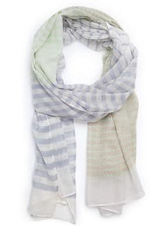 GESTREEPTE FOULARD