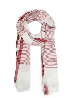 Striped foulard