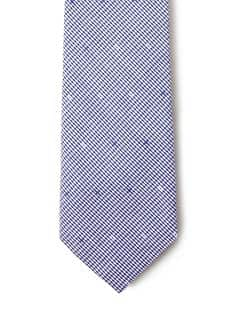 GINGHAM TIE