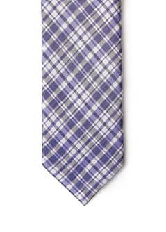 PLAID TIE