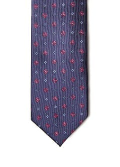 FLORAL PATTERNED TIE