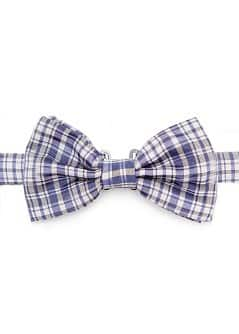PLAID BOW-TIE